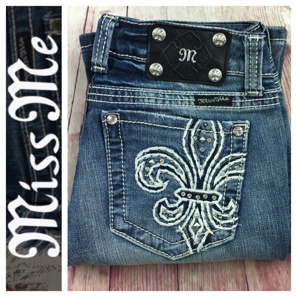 33ca98e9f640e6 Miss Me Jeans | Distressed Jp51094 Bootcut Jean Size 27 | Poshmark